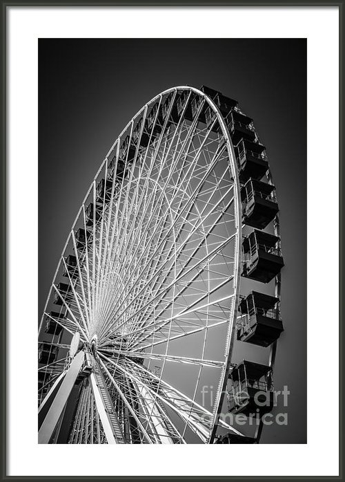Paul Velgos - Chicago Navy Pier Ferris ... Print