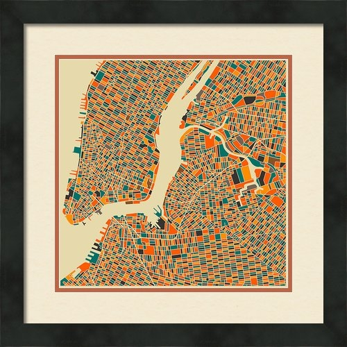 Jazzberry Blue - New York Print