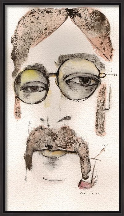 Mark M  Mellon - The Walrus as John Lennon Print