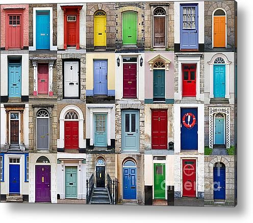 Richard Thomas - 32 Front Doors Horizontal... Print
