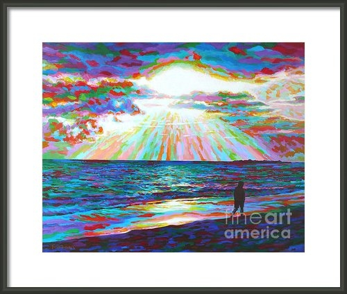 David Friedman - Beach Morning Print