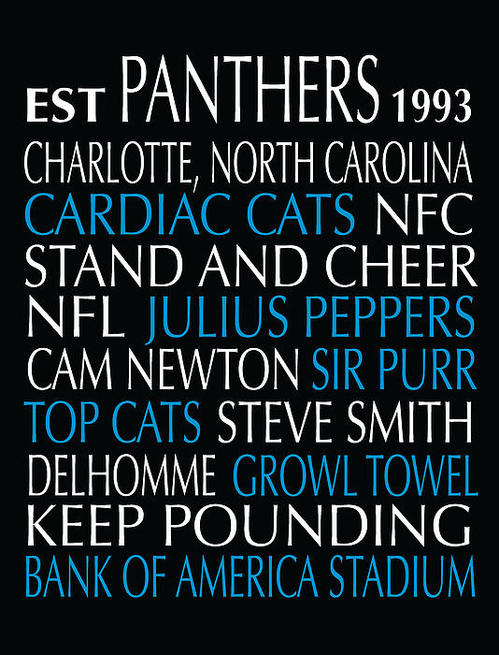 Jaime Friedman - Carolina Panthers Print