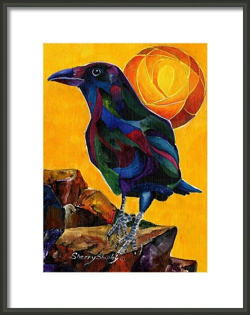 Sherry Shipley - Summer Crow 2 Print
