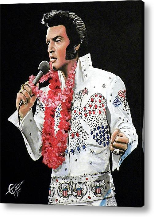 Tom Carlton - Elvis Print