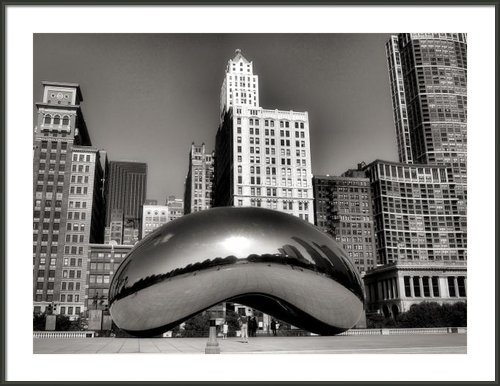Ely Arsha - The Bean - 3 Print