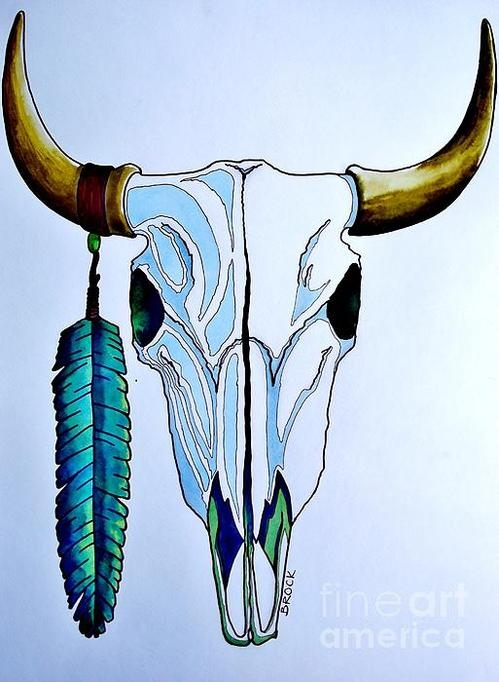Kyle  Brock - Indian Buffalo Print
