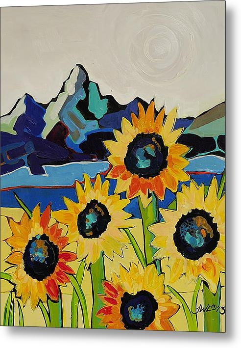 Jessi West Lundeen - Sunflor Fields Print