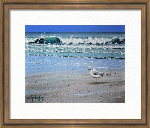 Craig T Burgwardt - Waves and Rays Print