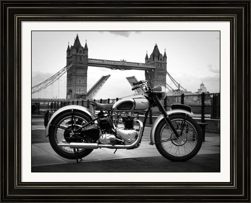 Mark Rogan - 1949 Triumph T100 Print