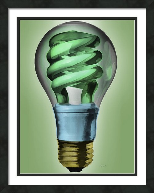 Bob Orsillo - Light Bulb Print