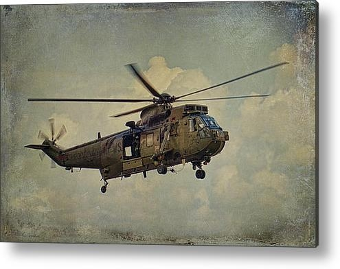 Dave Godden - Jungly Sea King Print