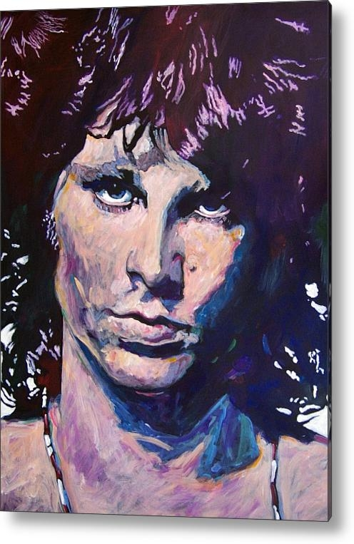 David Lloyd Glover - Jim Morrison the Lizard K... Print
