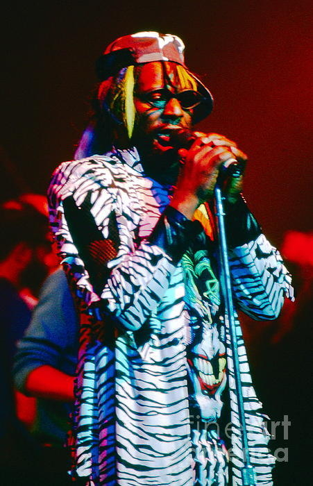 David Plastik - George Clinton Print