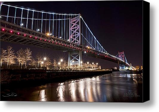 Shane Psaltis - Benjamin Franklin Bridge Print