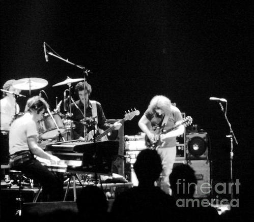 Susan Carella - The Jerry Garcia Band Print