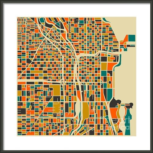 Jazzberry Blue - Chicago Print