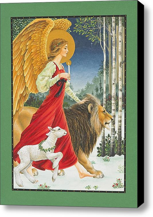 Lynn Bywaters - The Angel The Lion and Th... Print