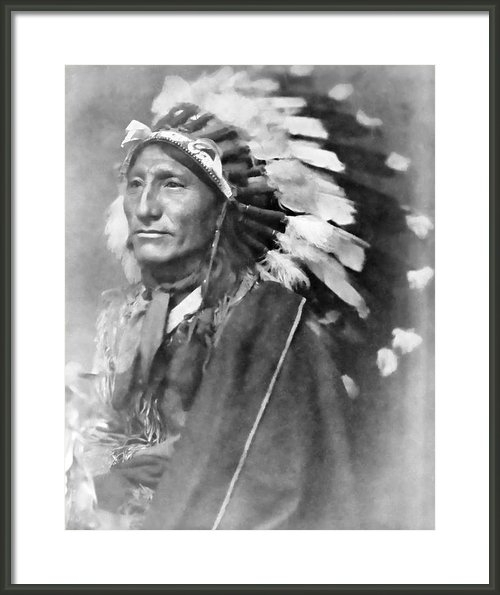 Daniel Hagerman - Indian Chief - 1902 Print