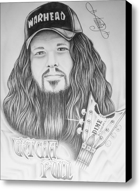 Charles Johnson Jr - Dimebag Darrell Print