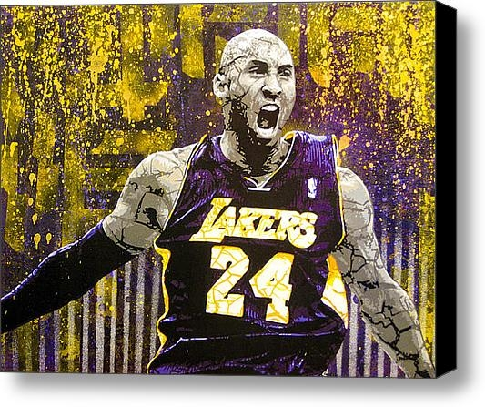 Bobby Zeik - Kobe The Destroyer Print