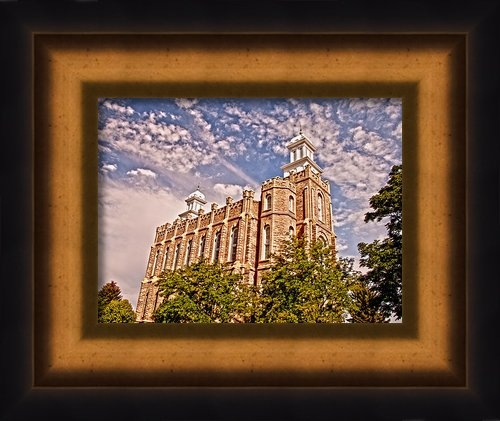 David Simpson - Logan II LDS Temple Print