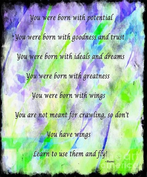 Barbara Griffin - You Have Wings 2 Print