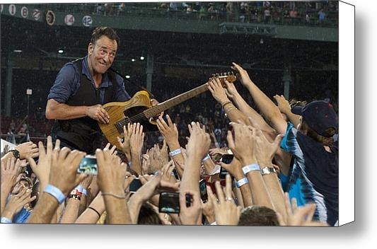 Jeff Ross - Frenzy at Fenway Print