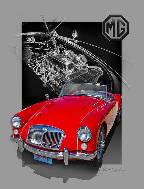 Roger Beltz -  A Mighty Good MGA Print