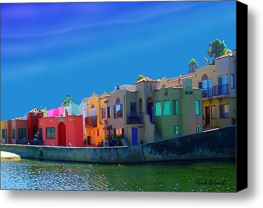 Nick Diemel - Capitola colors Print
