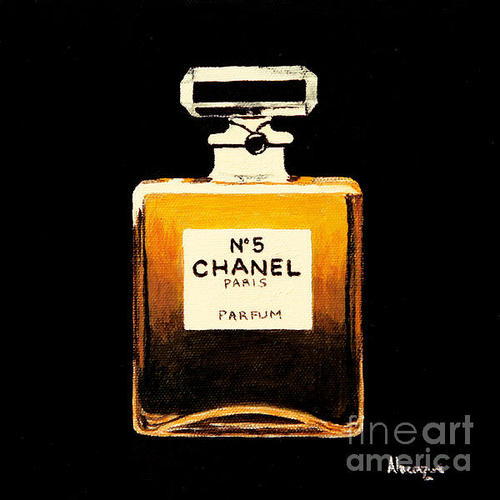 Alacoque Doyle - Chanel No. 5 Print