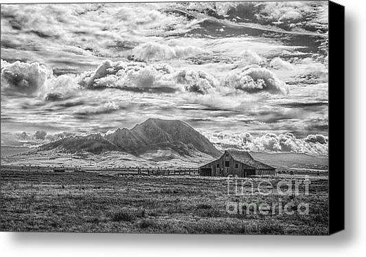 Steve Triplett - Barn and Bear Butte Print