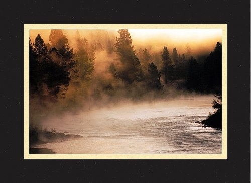 Thomas Schoeller - A River Runs Through It Print