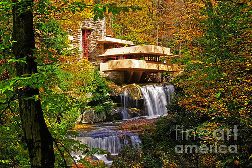 Rich Walter - Falling Waters Print