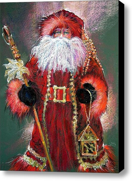 Shelley Schoenherr - Santa as Father Christmas Print