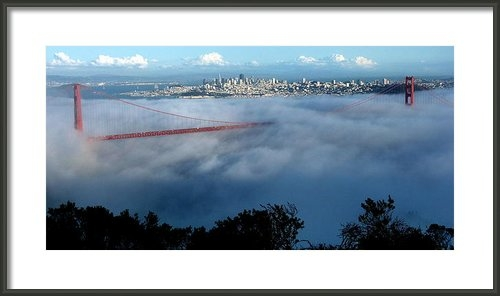 Jeff Lowe - San Francisco Golden Gate... Print