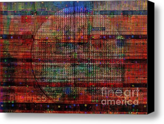 Andy  Mercer - Industrial Abstract 8 Print