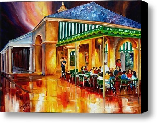 Diane Millsap - Midnight at the Cafe Du M... Print