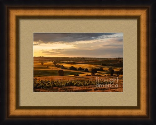 Peter Noyce - Sunset over the umbrian c... Print