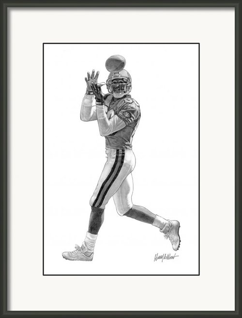 Harry West - Jerry Rice Print