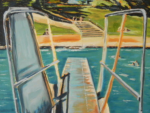Connie Taylor - Diving Board Print