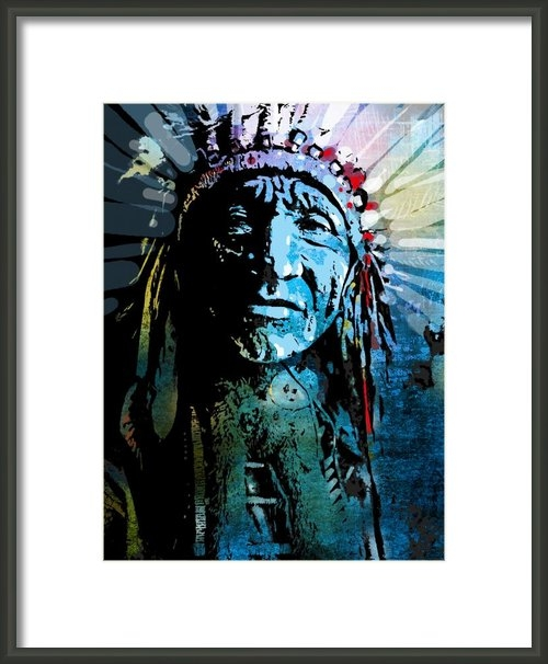 Paul Sachtleben - Sioux Indian Print