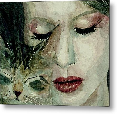 Paul Lovering - Lana Del Rey and a friend... Print