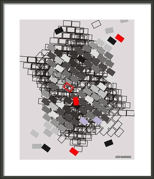 John McColgan - The Building Blocks Print