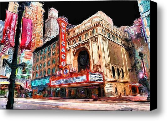 Ely Arsha - Chicago Theater - 23 Print