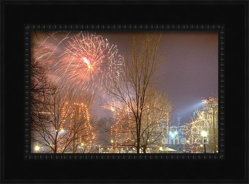 Susan Cole Kelly - Firstnight Fireworks Print