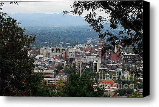 Melody Jones - Downtown Asheville Print