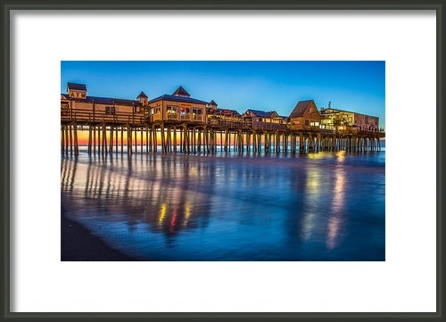 Stephen Beckwith - Dawn at Old Orchard Beach Print