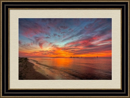 Tommy Mosley - Fort Morgan Sunset Print