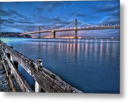 Scott Norris - San Francisco Bay Bridge ... Print