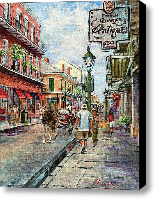 Dianne Parks - French Quarter Antiques Print